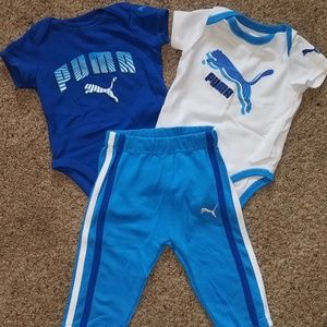 Puma 3-6 month outfit